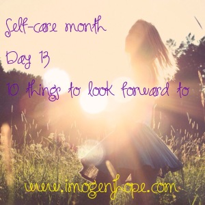 self-care month day 13