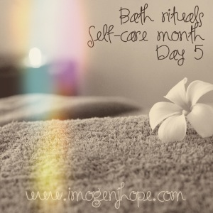 Self-care month day 5