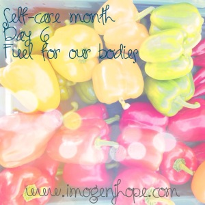 self-care month day 6