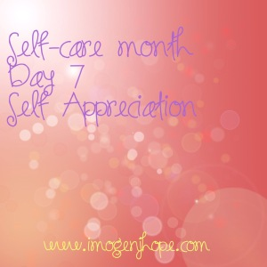 selfcaremonthday7